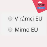 GDPR souhlas uchazeče mimo EU