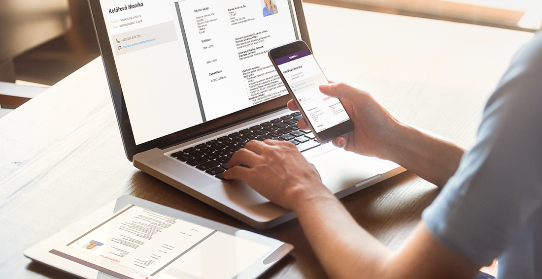 Bezpečné přeposílání údajů uchazečů z hlediska GDPR – nová akce Přeposlat – Teamio náborová aplikace