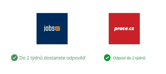 Označení Jobs a Práce