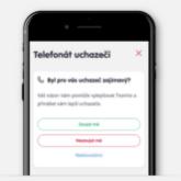 Telefon a jeho zaznaceni do HR aplikace